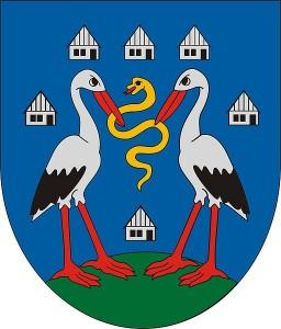 Homokmégy címere